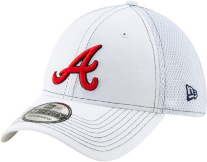 6691d4e4 New Era Men's Atlanta Braves 39Thirty Stretch Fit Hat. noImageFound.  Previous. 1