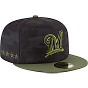 New Era Men's Milwaukee Brewers 59Fifty 2018 Memorial Day Fitted Hat