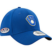 New Era Men's Milwaukee Brewers 39Thirty 2018 MLB Postseason Stretch Fit Hat