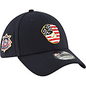 New Era Men's Milwaukee Brewers 39Thirty 2018 4th of July Stretch Fit Hat