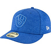 New Era Men's Milwaukee Brewers 59Fifty Clubhouse Low Crown Fitted Hat