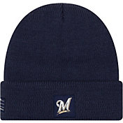 New Era Men's Milwaukee Brewers Clubhouse Knit Hat