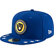 New Era Men's Milwaukee Brewers 59Fifty 2018 MLB Home Run Derby Fitted Hat