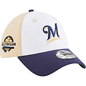 New Era Men's Milwaukee Brewers 39Thirty 2018 MLB All-Star Game Stretch Fit Hat