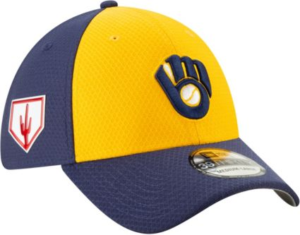 dc8c6e1082d New Era Men s Milwaukee Brewers 39Thirty HexTech 2019 Spring Training  Stretch Fit Hat. noImageFound