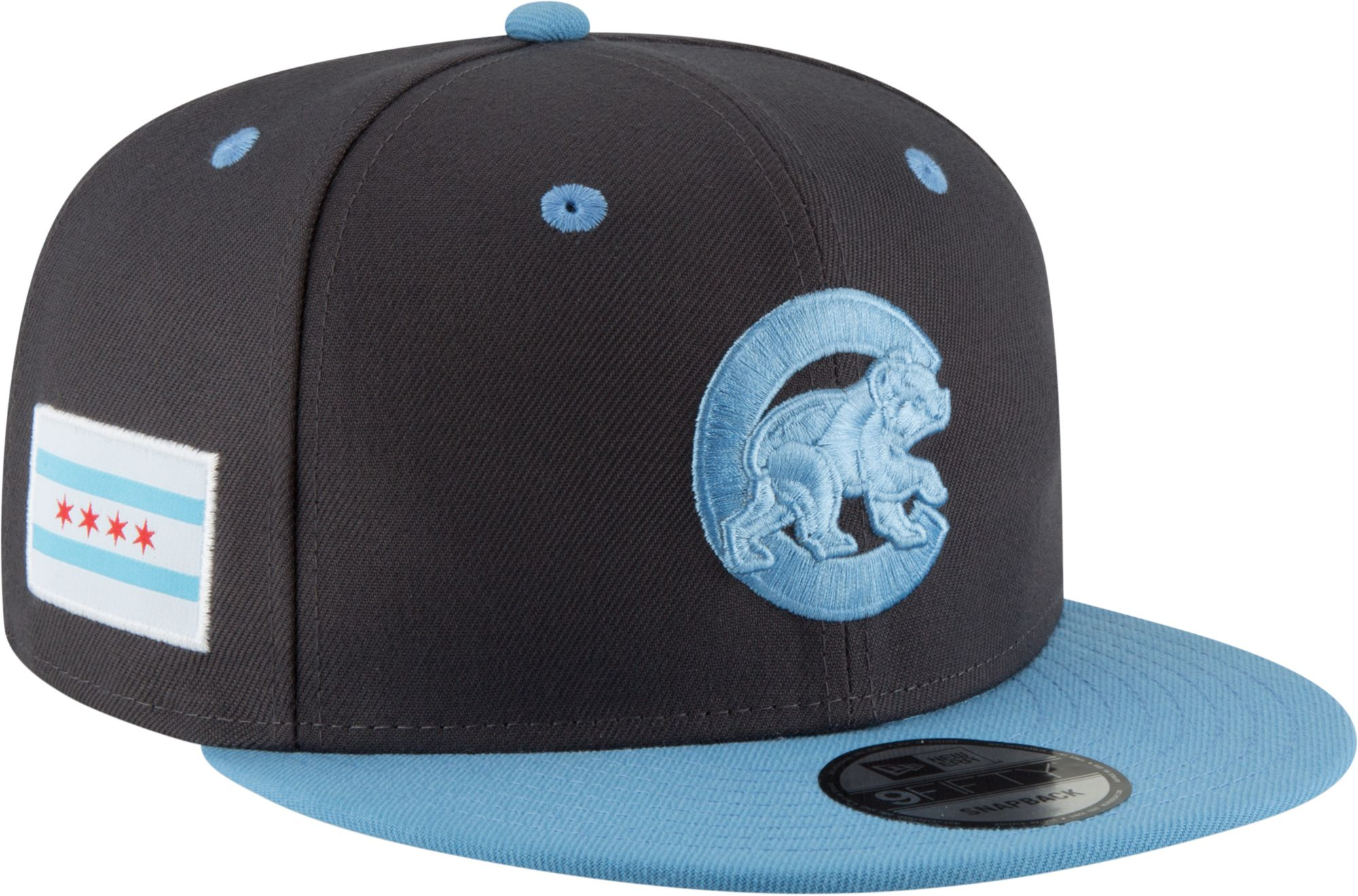 best sneakers c48c2 8c78c ireland black gray chicago new era cubs mlb patch 59fifty cap 6b2de 7cbf7