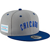 New Era Men's Chicago Cubs 9Fifty Adjustable Snapback Hat w/ City Flag Patch