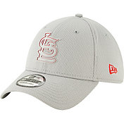 New Era Men's St. Louis Cardinals 39Thirty Clubhouse Grey Stretch Fit Hat