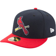 New Era Men's St. Louis Cardinals 59Fifty Alternate Navy Low Crown Fitted Hat