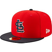 New Era Men's St. Louis Cardinals 59Fifty HexTech Batting Practice Fitted Hat