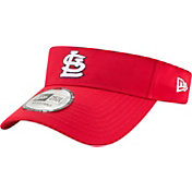 New Era Men's St. Louis Cardinals Clubhouse Adjustable Visor