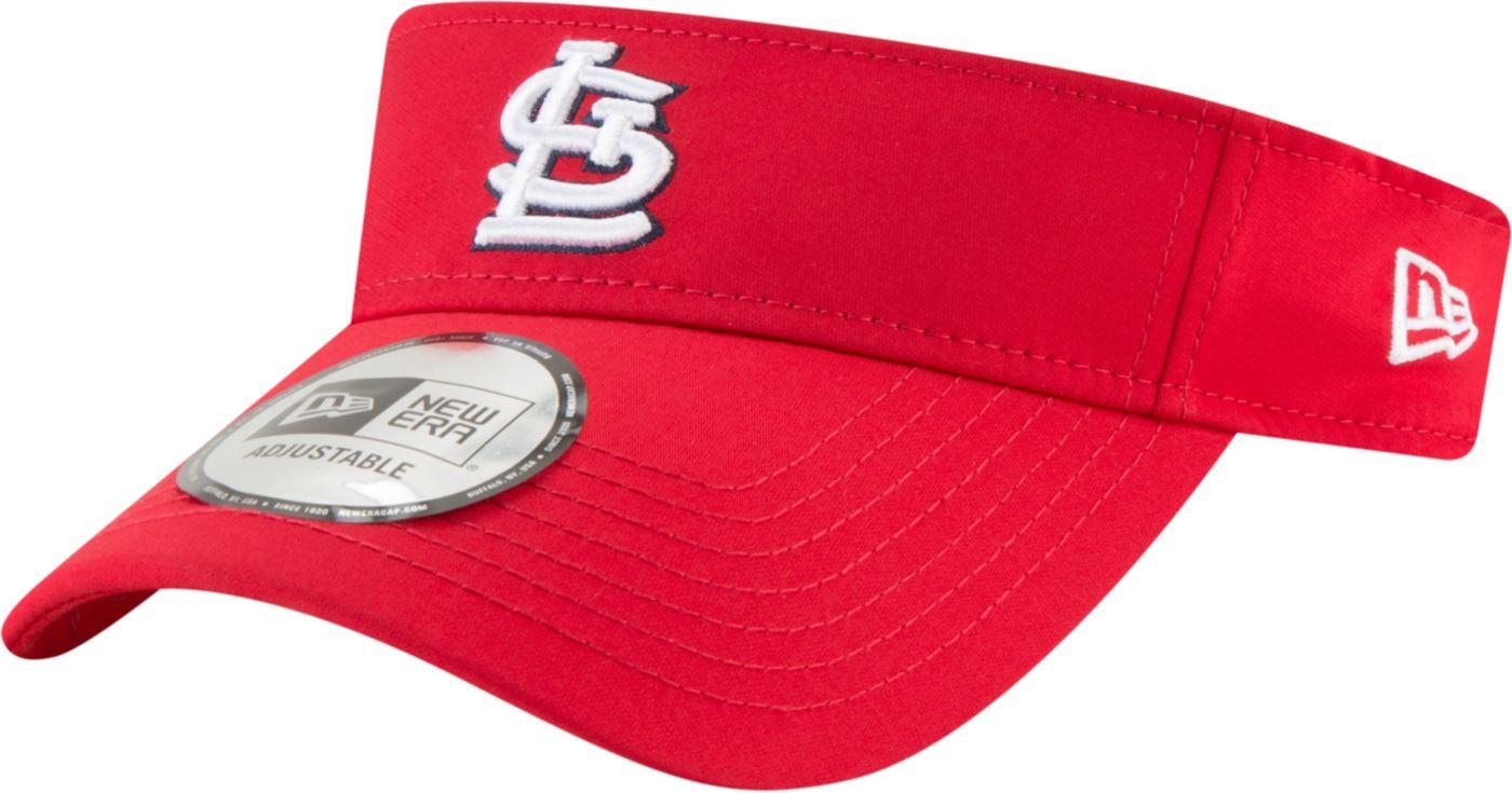 New Era Men's St. Louis Cardinals Clubhouse Adjustable Visor