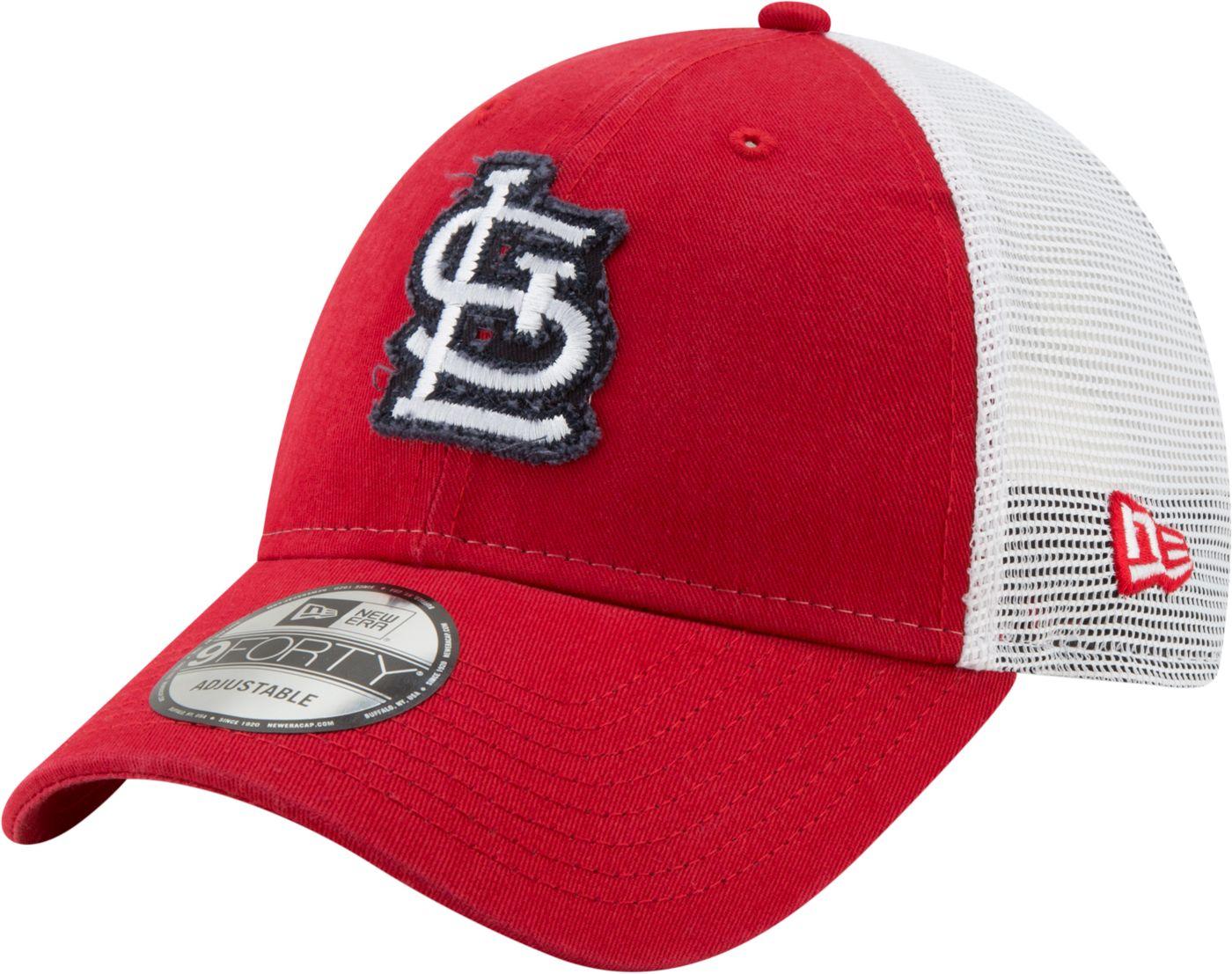 New Era Men's St. Louis Cardinals 9Forty Team Trucker Adjustable Hat