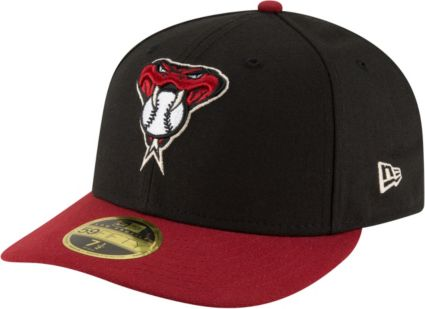 New Era Men's Arizona Diamondbacks 59Fifty Alternate Black Low Crown Fitted Hat