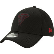 New Era Men's Arizona Diamondbacks 39Thirty Clubhouse Black Stretch Fit Hat