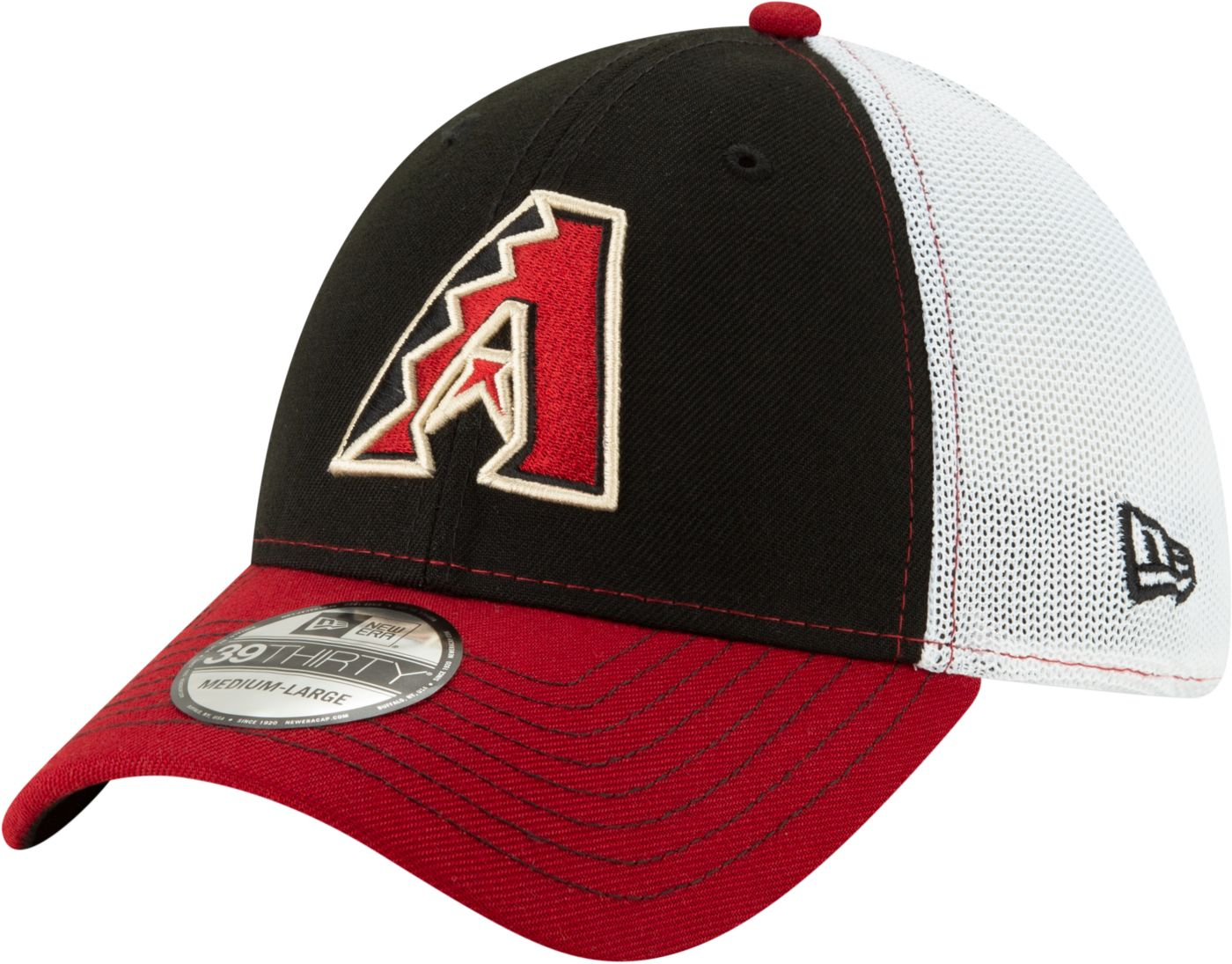 New Era Men's Arizona Diamondbacks 39Thirty Practice Piece Stretch Fit Hat