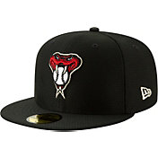 New Era Men's Arizona Diamondbacks 59Fifty HexTech Batting Practice Fitted Hat