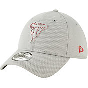 New Era Men's Arizona Diamondbacks 39Thirty Clubhouse Grey Stretch Fit Hat