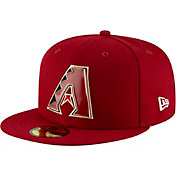 New Era Men's Arizona Diamondbacks 59Fifty Metal Thread Fitted Hat
