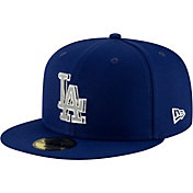 8ed9f1eb181b9 Product Image · New Era Men s Los Angeles Dodgers 59Fifty Metal Thread  Fitted Hat