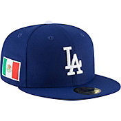 New Era Men's Los Angeles Dodgers 59Fifty Fitted Hat w/ Mexican Flag Patch