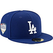 New Era Men's 2018 World Series 59Fifty Los Angeles Dodgers Game Royal Authentic Hat