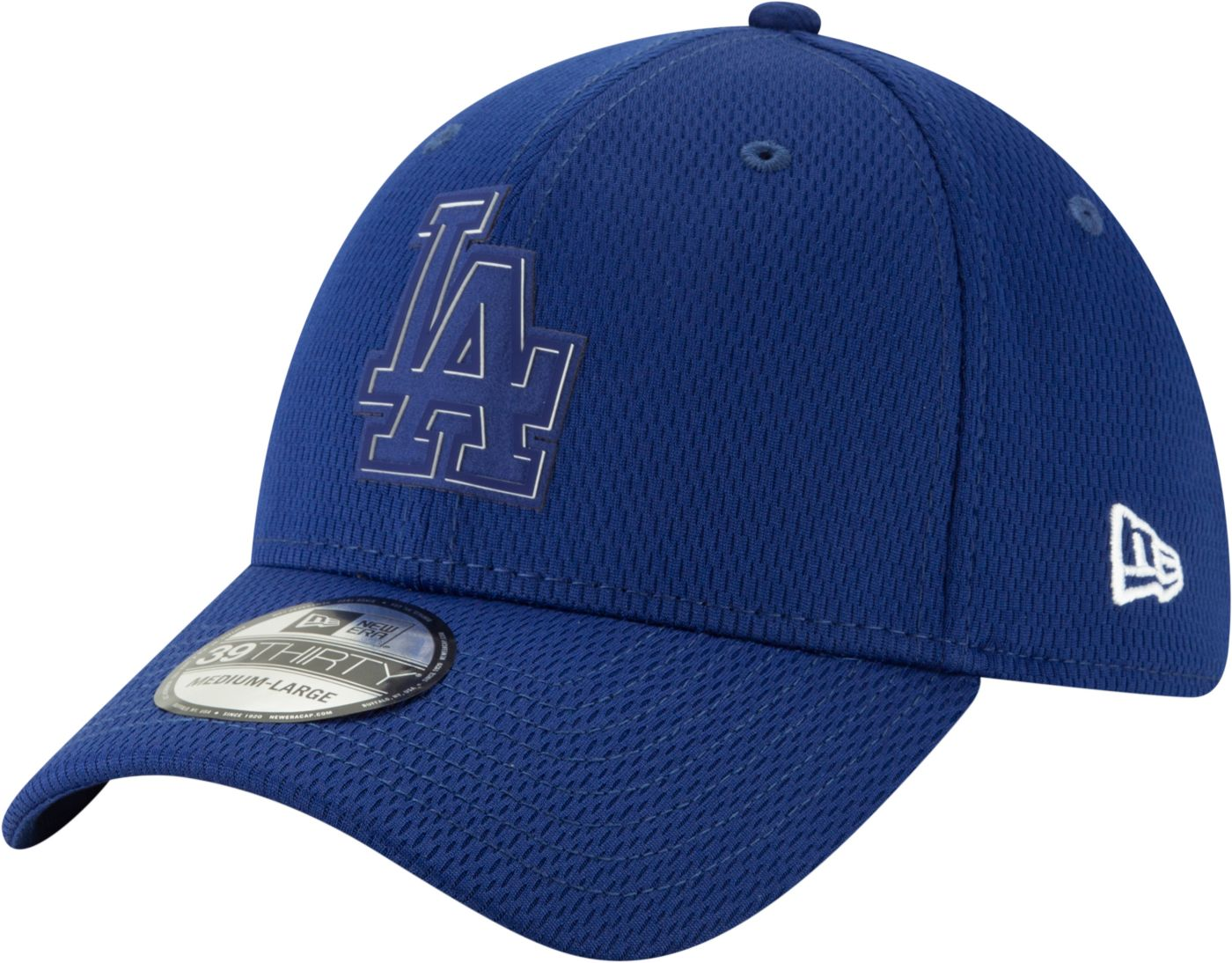New Era Men's Los Angeles Dodgers 39Thirty Clubhouse Navy Stretch Fit Hat