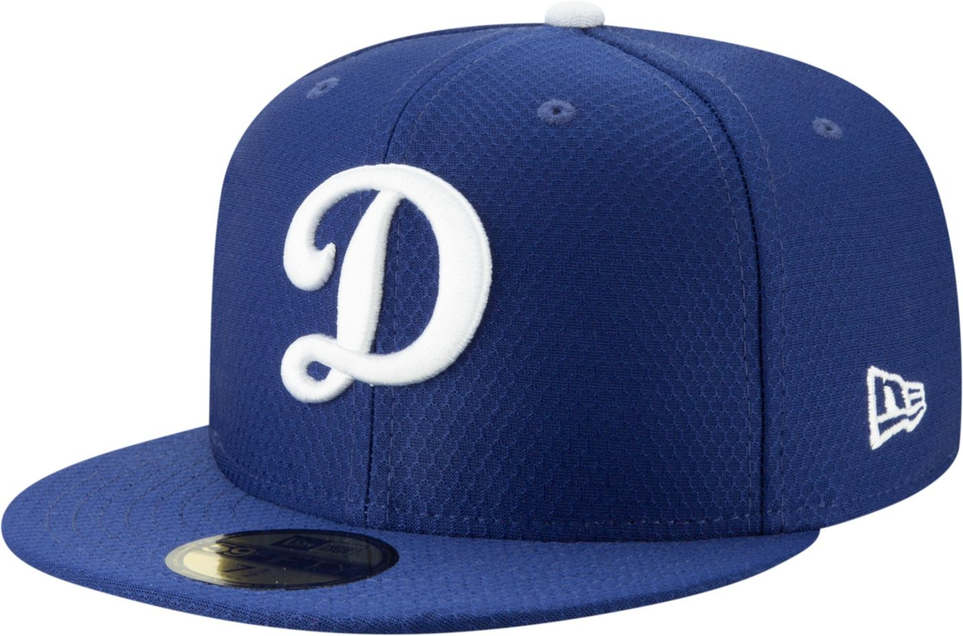 New Era Men's Los Angeles Dodgers 59Fifty HexTech Batting Practice Fitted Hat