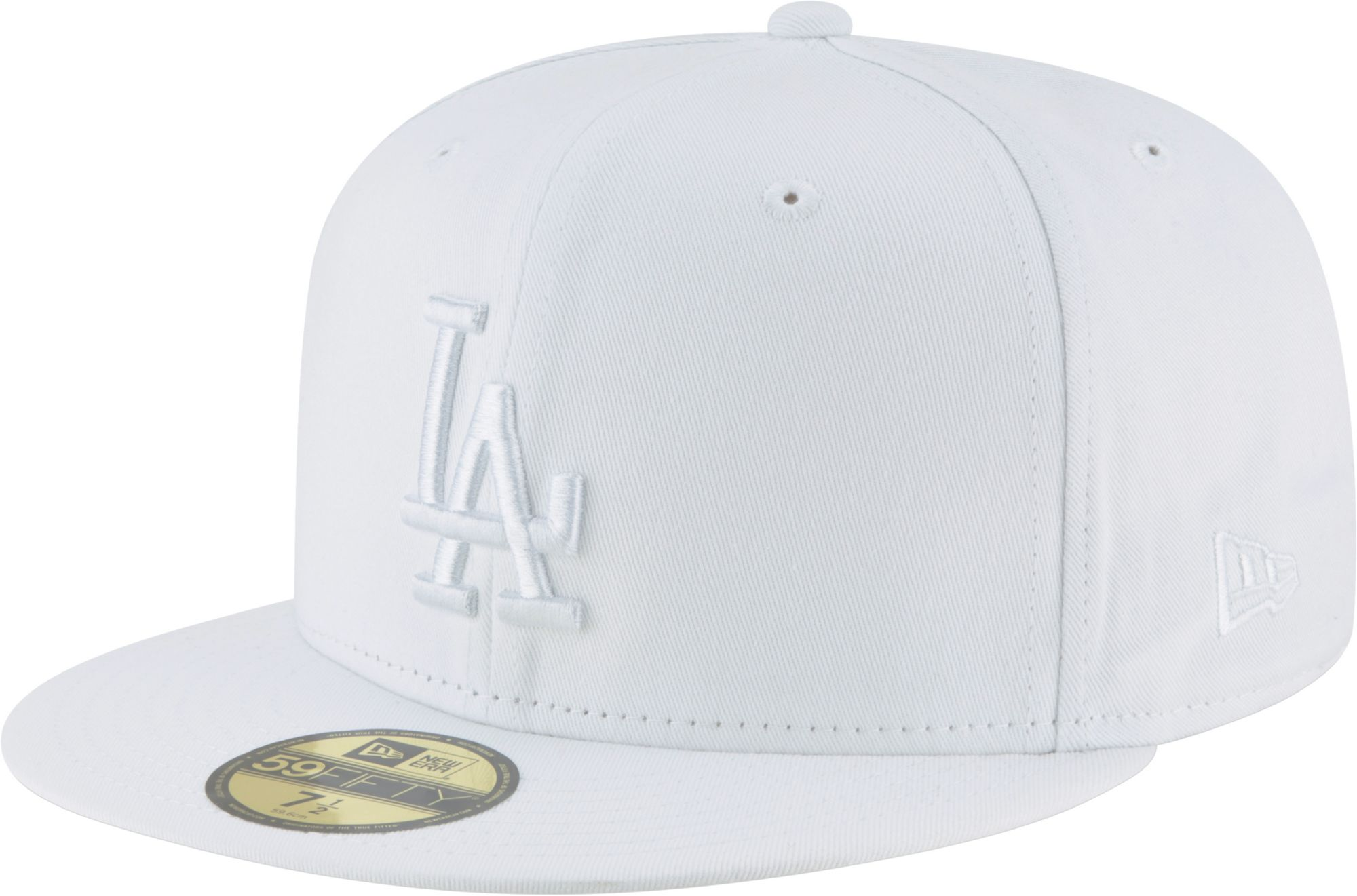 first rate 4ff4b 465ef inexpensive new era mens los angeles dodgers 59fifty basic white fitted hat  1f8fc 0dcd6