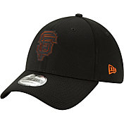 New Era Men's San Francisco Giants 39Thirty Clubhouse Black Stretch Fit Hat
