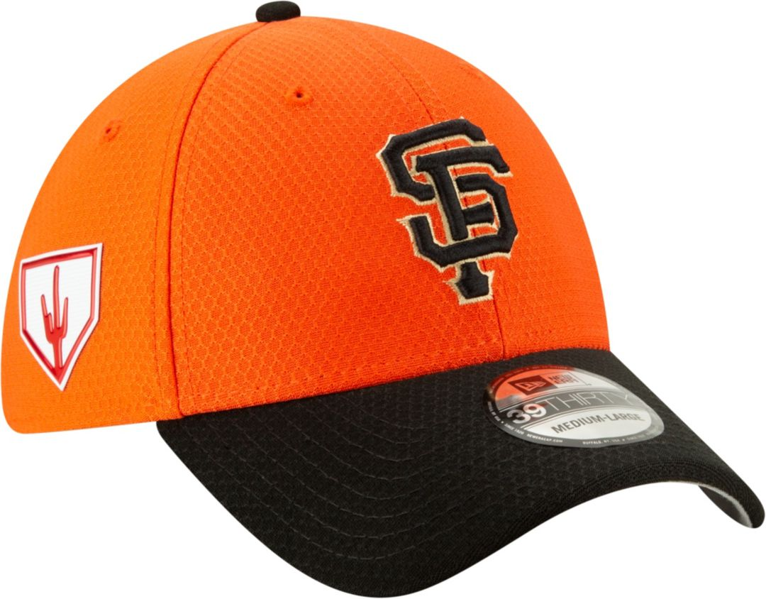 low priced 7e864 71d90 New Era Men s San Francisco Giants 39Thirty HexTech 2019 Spring Training Stretch  Fit Hat 1