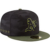 New Era Men's Oakland Athletics 59Fifty 2018 Memorial Day Fitted Hat