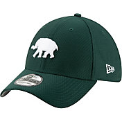 New Era Men's Oakland Athletics 39Thirty HexTech Batting Practice Stretch Fit Hat