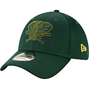 New Era Men's Oakland Athletics 39Thirty Clubhouse Green Stretch Fit Hat