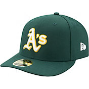 New Era Men's Oakland Athletics 59Fifty Road Green Low Crown Fitted Hat