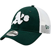 New Era Men's Oakland Athletics 9Forty Team Trucker Adjustable Hat