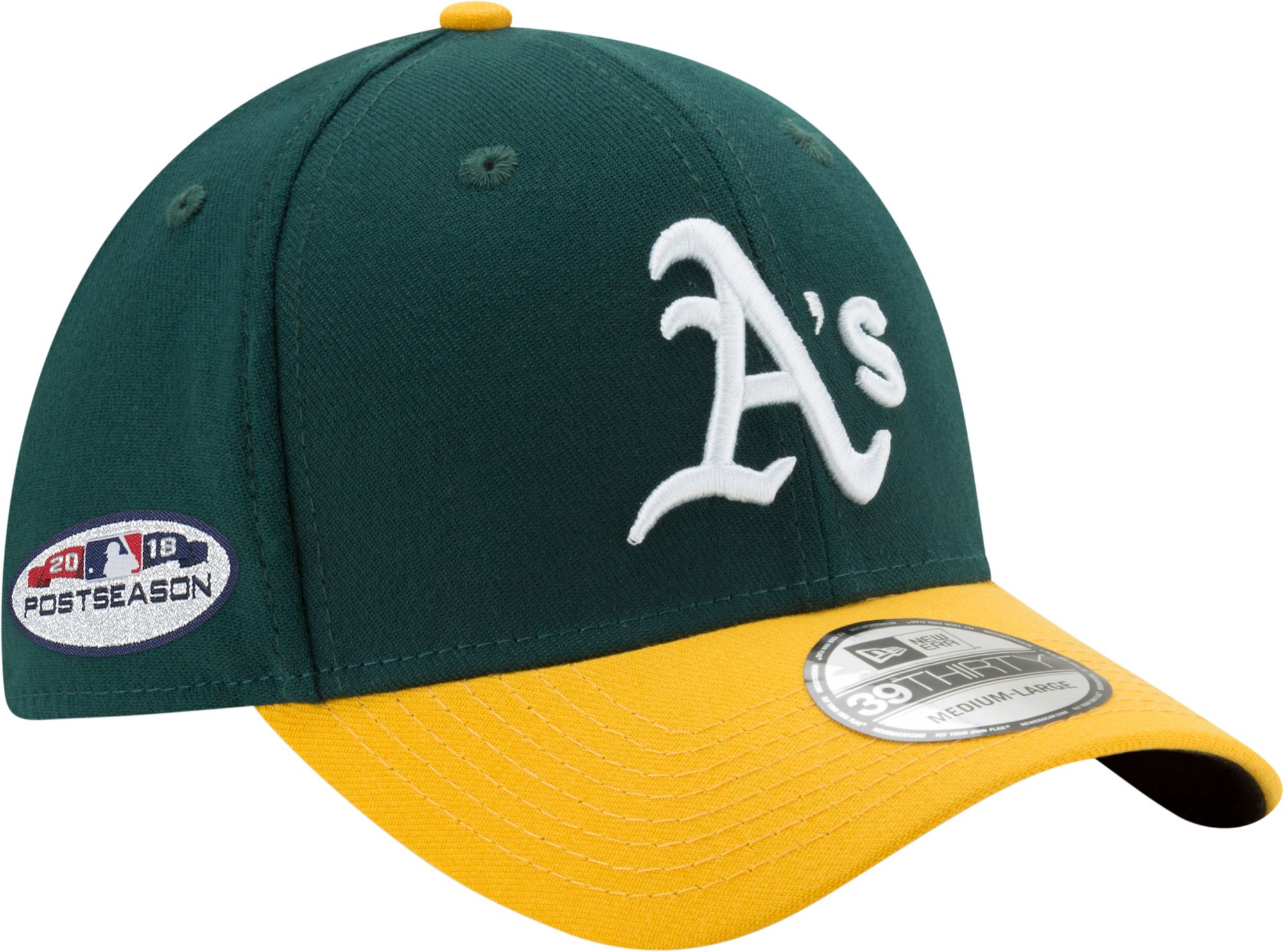 info for e5504 fe626 ... canada low cost new era mens oakland athletics 39thirty 2018 mlb  postseason stretch fit hat a01ac