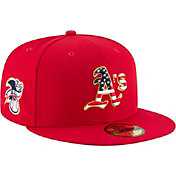 New Era Men's Oakland Athletics 59Fifty 2018 4th of July Fitted Hat