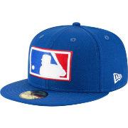 New Era Men's MLB Logo 59Fifty Royal Fitted Hat
