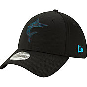 8797cb0794d Product Image · New Era Men s Miami Marlins 39Thirty Clubhouse Black  Stretch Fit Hat