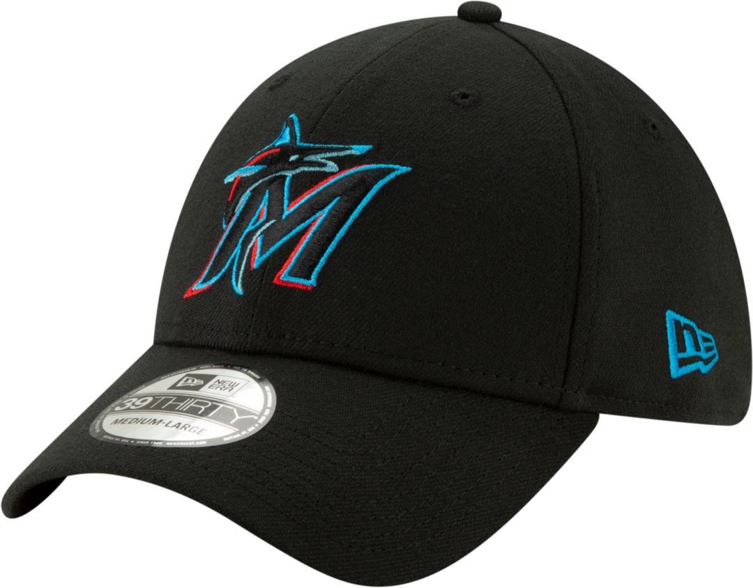 833441dd New Era Men's Miami Marlins 39Thirty Stretch Fit Hat | DICK'S ...