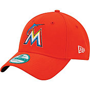 New Era Men's Miami Marlins 9Forty Adjustable Hat