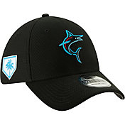New Era Men's Miami Marlins 39Thirty HexTech 2019 Spring Training Stretch Fit Hat