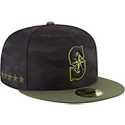 New Era Men's Seattle Mariners 59Fifty 2018 Memorial Day Fitted Hat