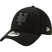 New Era Men's New York Mets 39Thirty Clubhouse Black Stretch Fit Hat