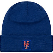 New Era Men's New York Mets Clubhouse Knit Hat