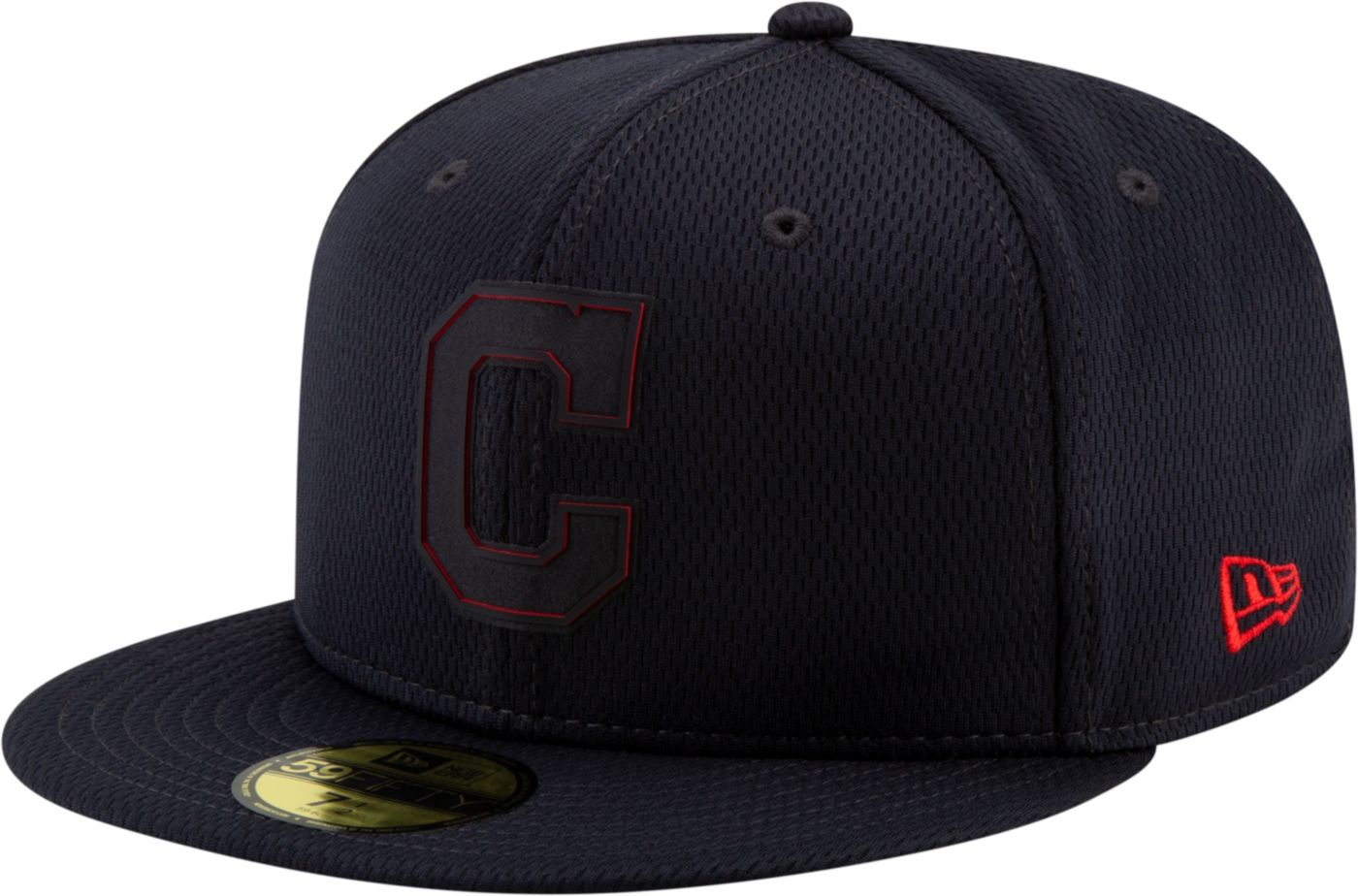New Era Men's Cleveland Indians 59Fifty Clubhouse Navy Fitted Hat