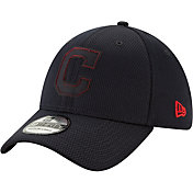 New Era Men's Cleveland Indians 39Thirty Clubhouse Navy Stretch Fit Hat