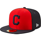 New Era Men's Cleveland Indians 59Fifty HexTech Batting Practice Fitted Hat