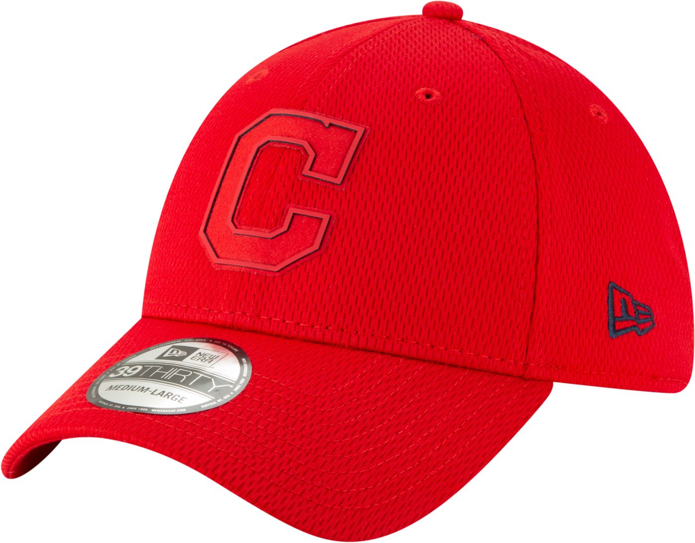 New Era Men's Cleveland Indians 59Fifty Clubhouse Red Fitted Hat